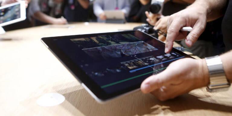 iPad Pro startet jetzt in Österreich
