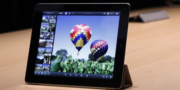 Mini-iPad kommt ohne Retina-Display