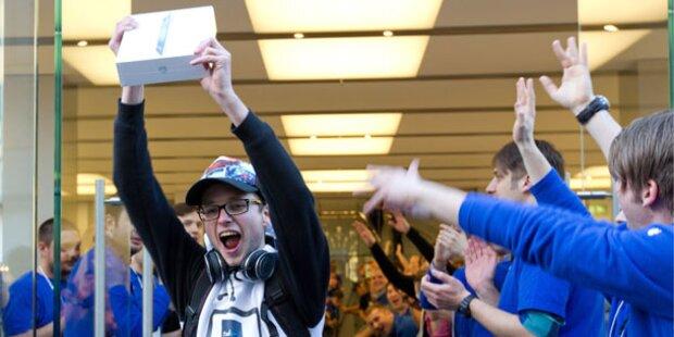 iPad-Fans stürmen die Apple-Shops