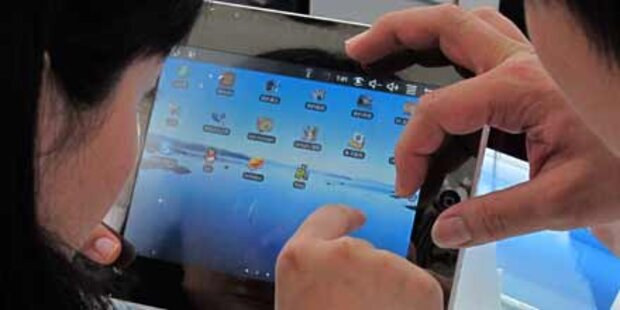 Apples iPad ist ideal für Sumo-Ringer