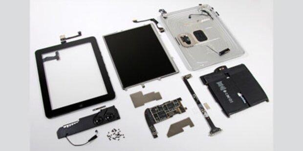 Apple kostet das iPad 259,60 Dollar