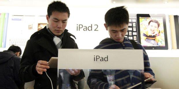 Chinesische Firma sucht Angebot von Apple