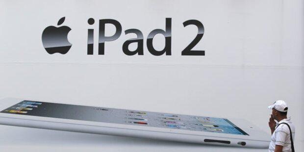 iPad 2 startet bei A1, Orange und T-Mobile