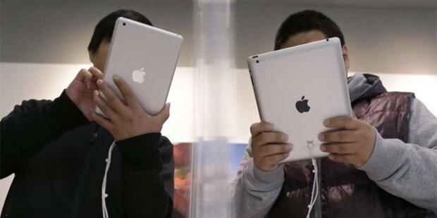 Apple plant iPad mini mit Retina-Display