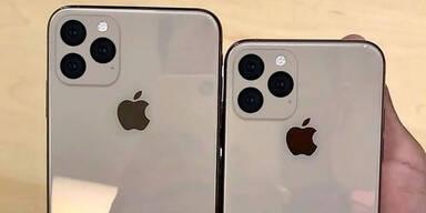 "iPhone XI  mit  ""Smart Frame""-Kamera"