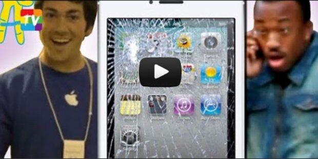 Falscher Apple-Arbeiter narrt iPhone 5-Fans