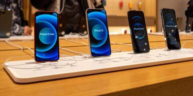 iPhone 13: Apple ließ sieben Modelle registrieren