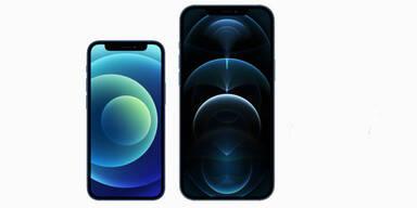 iPhone 12 Pro Max und iPhone 12 mini starten