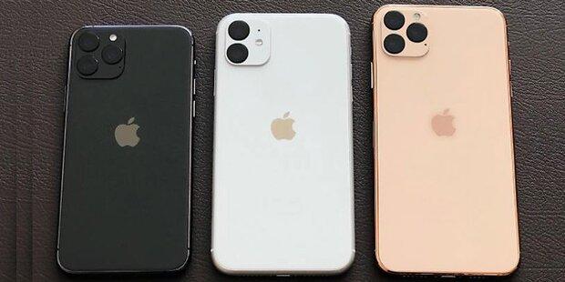 iPhone 11 (Pro): Alle Daten durchgesickert