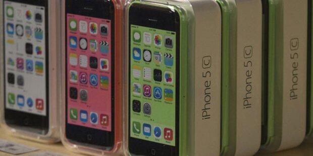 Apple bringt Millionen iPhone 5c nicht an