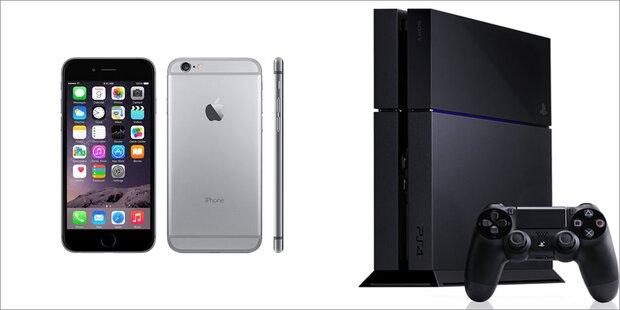iPhone 6 und PS4 Pro zum Kampfpreis