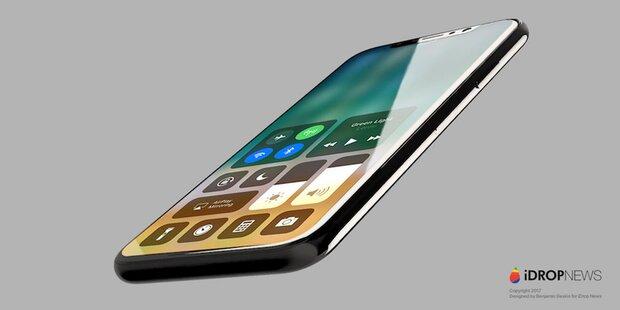 iPhone 8 surft schon im Internet