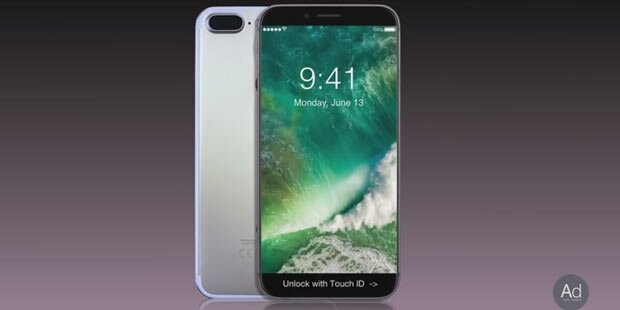 iPhone 8: Touchleiste statt Home-Button
