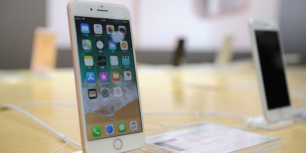 Preissturz beim neuen iPhone 8