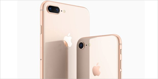 Jetzt ist das iPhone 8 (Plus) da