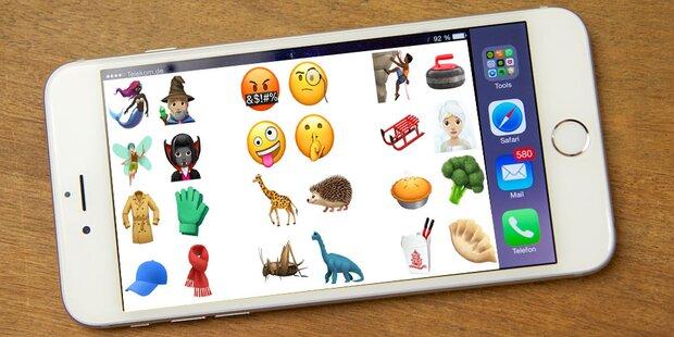 iOS 11.1: Das sind die neuen iPhone-Emojis