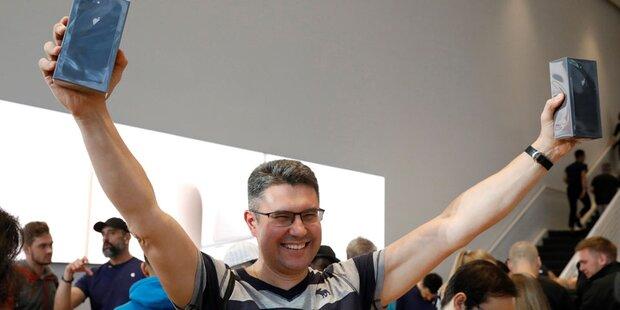 iPhone 8 löst keinen Verkaufs-Hype aus