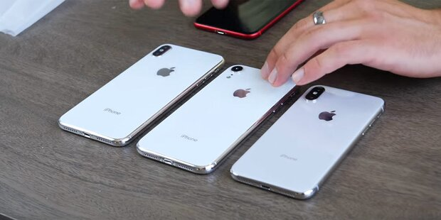 Video zeigt iPhone 9 & iPhone X Plus in Aktion