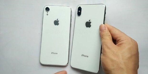 iOS 12 verrät Details über neue iPhones