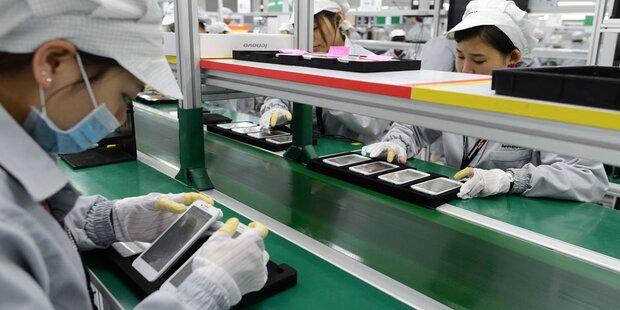 Schwere Missstände in iPhone-Fabriken