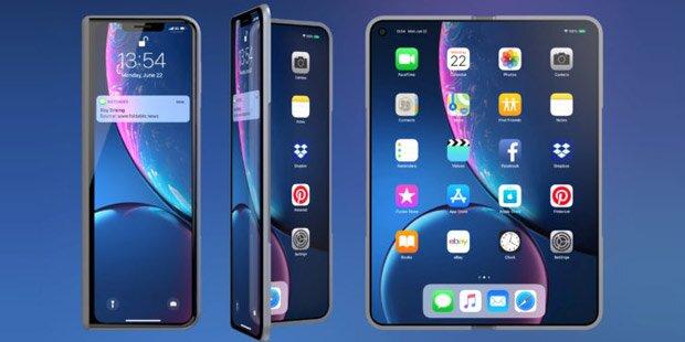 Apple bringt ein faltbares iPhone