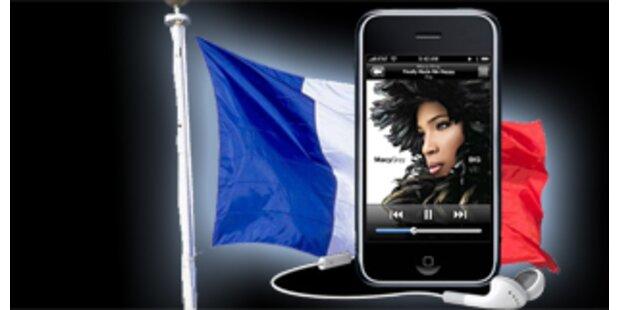 iPhone in Frankreich ein Viertel billiger