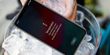 An Hitzetagen sollte man sein iPhone nicht nutzen