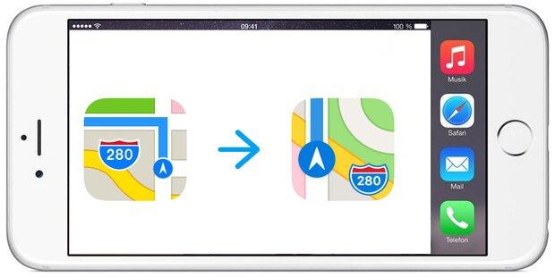 iOS 11: Deshalb macht Apple das Maps-Icon neu