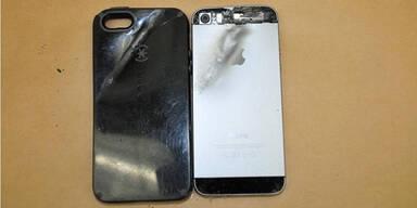 iPhone hält bei Überfall Kugel auf