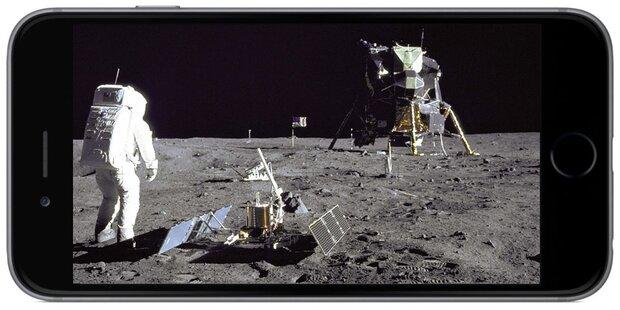 iPhone billionenmal schneller als Apollo-Chip