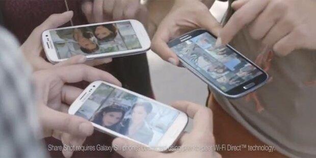 Samsung zieht über iPhone 5(-Fans) her