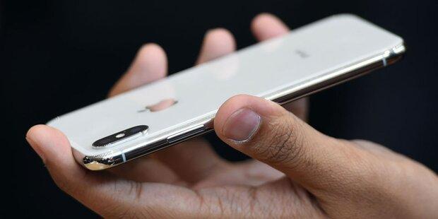 iPhone X: Erste Super-Handys ausgeliefert