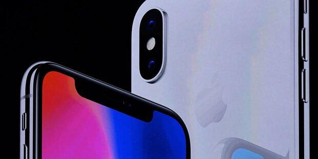 Vorbestellstart für das iPhone X