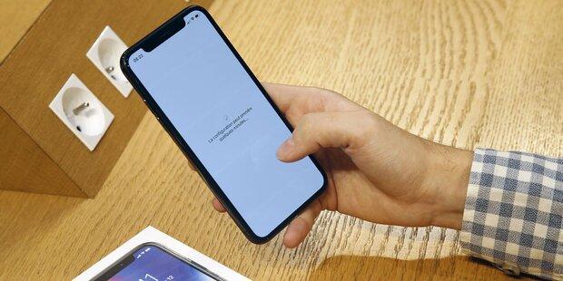 iPhone X wird zum Ladenhüter