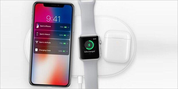 Apple setzt voll auf kabelloses Aufladen