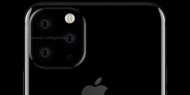 3D-Rendering soll iPhone XI zeigen