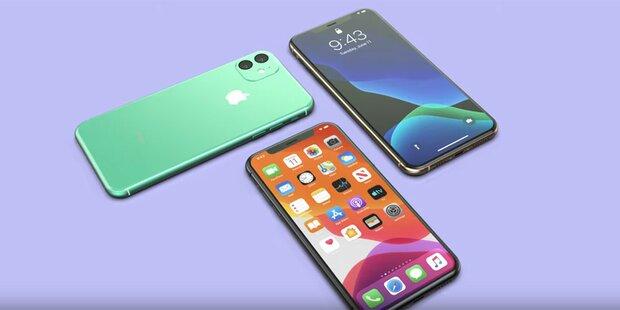 So kommen das iPhone XI und XR 2