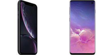 Preissturz bei Galaxy S10 und iPhone XR