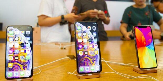 iPhone XS, XS Max & XR sind Ladenhüter
