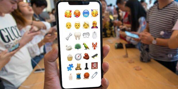 Über 70 neue Emojis für iPhone-User