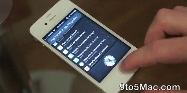 Hacker bringt Siri auf iPhone 4 und iPad