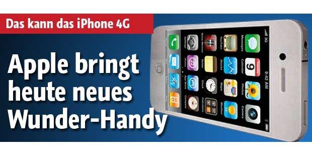 Apple bringt neues Wunder-Handy