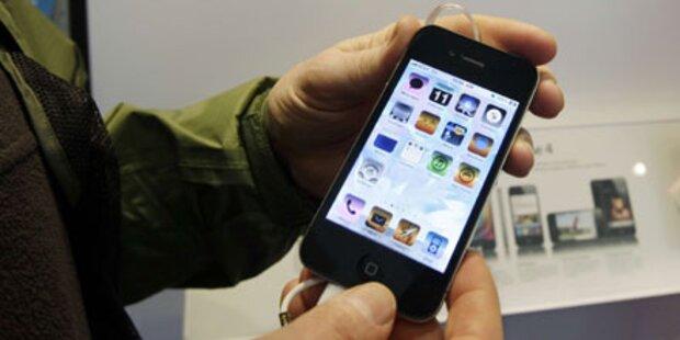 60-Jährige wollte 44 iPhone 4 schmuggeln
