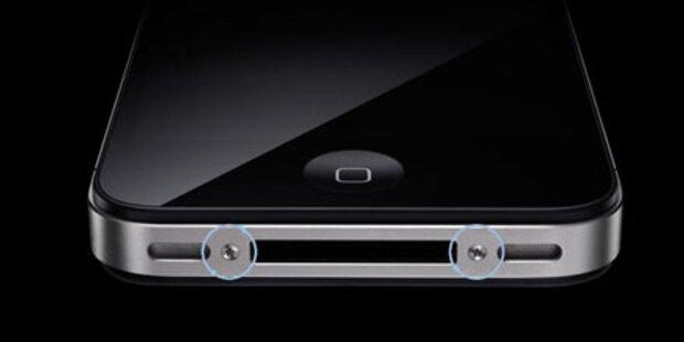Torx-Schrauben gegen weiße iPhone 4-Hüllen