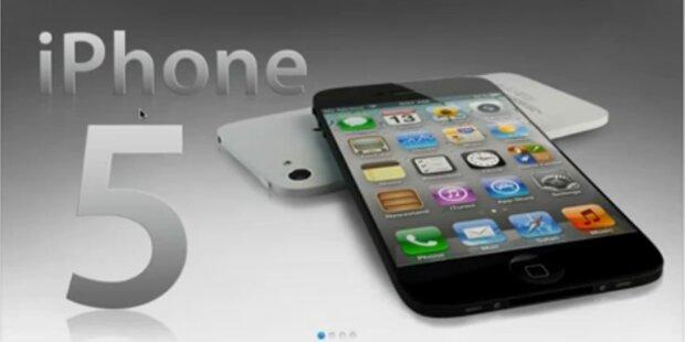 Fix: iPhone 5 kommt am 4. Oktober
