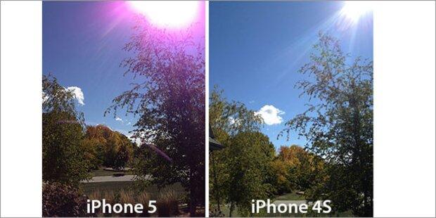 iPhone 5-Fotos: Violetter Schleier sorgt für Ärger