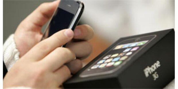 1 Million iPhone 3G am ersten Wochenende verkauft