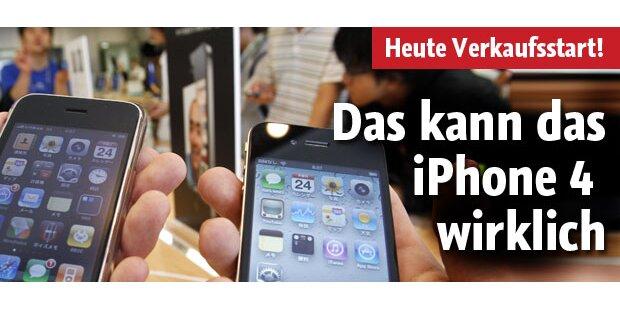 Verkaufsstart für das iPhone 4