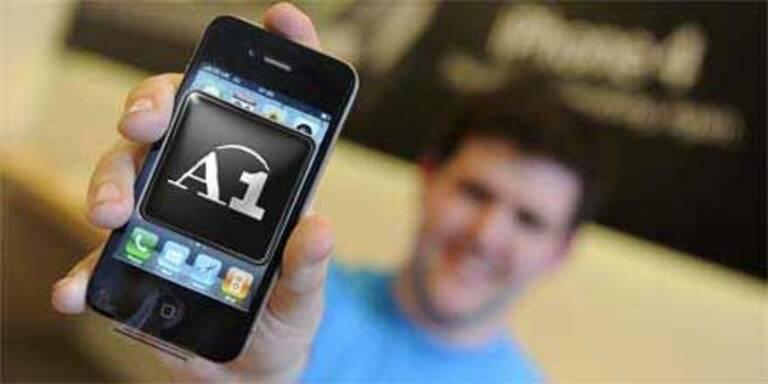 A1 hat über 100.000 iPhones verkauft