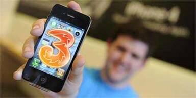 "Mobilfunker ""3"" bringt das iPhone 4"